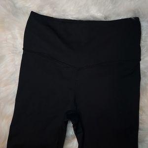 Marika Black & Silver Sparkle Leggings, Size Large